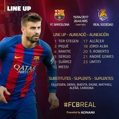🔴🔵 Getting ready to watch the #FCBReal game shortly! Go Barca! #FCBLive  #ForçaBarça 🔴🔵