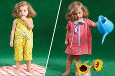 Holli Zollinger's fabric designs in a new line for Little Esop