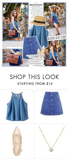 """""""Learn to believe in yourself"""" by wambui ❤ liked on Polyvore featuring Chicnova Fashion, Topshop and Nine West"""