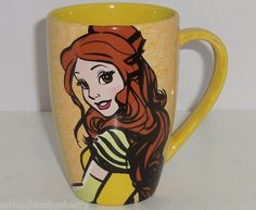 Disney Princess Belle Coffee MUG CUP Theme Parks Beauty Morning ARE A Beast | eBay