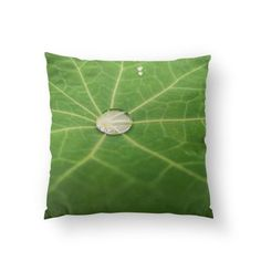 Water Droplet Pillow by AR (sunANIL) from £20.00 | miPic Water Droplets, Cool Art, Throw Pillows, Gallery, Prints, Toss Pillows, Cushions, Roof Rack, Water Drops