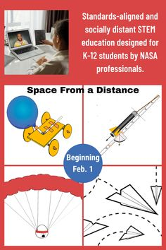 Beginning Feb. 1, Space from a Distance provides a daily schedule for teachers to lead their students through the engineering design process, focusing on four NASA mission-activity areas: STEM on Station, Moon to Mars, Commercial Crew, and Aeronaut-X. From #NASAMakerMonday to #NASAFeedbackFriday, each day features a theme from a step in the engineering design process with socially distanced or at-home learning. The opportunity is sponsored by Battelle Education. Math Lesson Plans, Math Lessons, Engineering Design Process, Nasa Missions, Home Learning, Crates, Schedule, Distance, Opportunity
