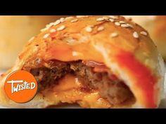 Mini Cheeseburger Dough Balls - Twisted