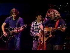 Deep Elem Blues - Jerry Garcia & Bob Weir (acoustic) 12-17-1987 - Warfield Thea., SF. (2)
