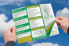 Master Your Life Trifold Brochure