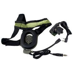 HD01 Z Tactical Bowman Elite II U94 Style 2 Pin PTT Headset for Kenwood Radios #UnbrandedGeneric