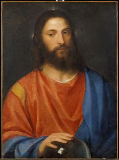 Christ with Globe - Titian
