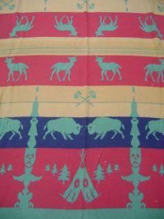 Vintage Trade Blanket