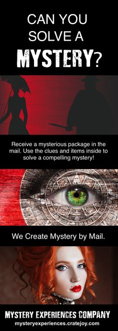 Limited number available. Order your mystery today!