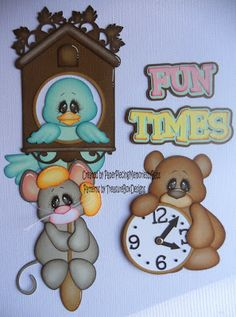 Created by PAPER PIECING MEMORIES BY BABS, using Cuckoo Time