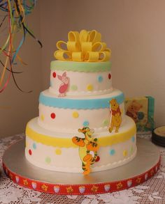 Winnie the Pooh cake made by Celia