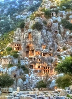 An Ancient Town in Lycia, Turkey