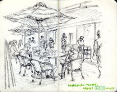 https://flic.kr/p/t6zcam | hoshigaoka-terrace #moleskine