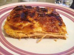 Ζαμπονοτυροπιτα Lasagna, Pork, Meat, Chicken, Ethnic Recipes, Kale Stir Fry, Pork Chops, Lasagne, Cubs