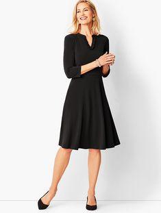 cb8d5840970ed0 I have this dress. It s a fit and flare so super flattering on me.