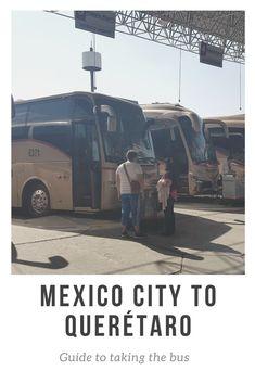 A guide to taking the Mexico City to Queretaro bus. #queretaro #mexicocity #primeraplus