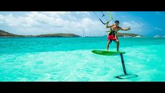 What better place to show off kite foiling than Union Island? JT pro center http://buff.ly/1A2rDxW #kitesurfing #kiteboarding #travel #kitefoiling - actiontripguru.com