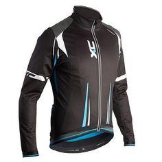 Textil invierno Ciclismo - Chaqueta ciclismo hombre btwin 500 xc azul B'TWIN - Ropa de ciclismo y protecciones