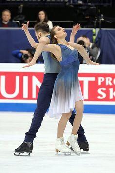 Gabriella PAPADAKIS / Guillaume CIZERON FRA – Silver Medal