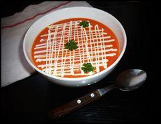 Supa crema de ardei copt din Carte de bucate, Supe si ciorbe. Specific Romania. Cum sa faci Supa crema de ardei copt