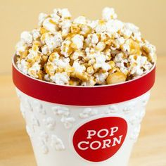 Macadamia Butter-Crunch Popcorn