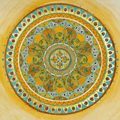 royal mandala - arte original mandala - arte chakra - chakra mandalas - arte budismo - arte apacible - arte abstracto