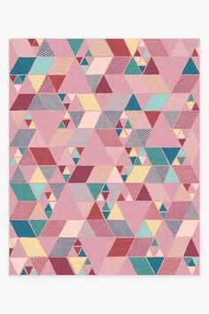 Our Joojee Pink Rug features an interplay of lines and shapes in a feminine palette of ballerina pink and marigold yellow with pops of turquoise blue. From playroom to nursery, this geometric rug will add a layer of festive color and texture. Machine Washable Rugs, Teal Rug, 8x10 Area Rugs, Black Rug, Geometric Rug, Natural Rug, Colorful Rugs, Kids Rugs, Ballerina Pink