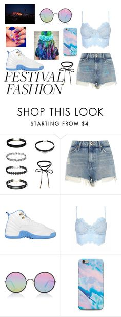 """Festival Fashion"" by bowkam ❤ liked on Polyvore featuring River Island and Sunday Somewhere"