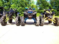 LIFTED CAN AM RENEGADES