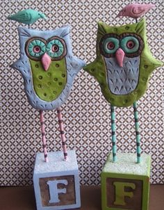 Custom Owl-you design your own. $34.00, via Etsy.