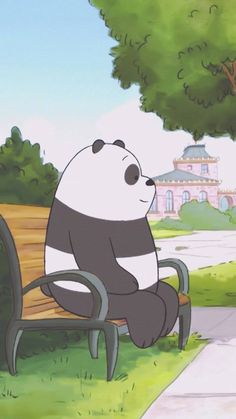 we bare bear♡ We Bare Bears Wallpapers, Panda Wallpapers, Cute Wallpapers, Bear Wallpaper, Cartoon Wallpaper, Happy Cartoon, Cute Cartoon, Mode Ulzzang, We Bear