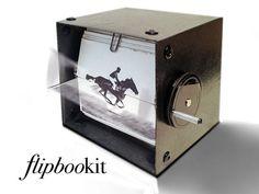 FlipBooKit, A Motorized Flip Book Kit