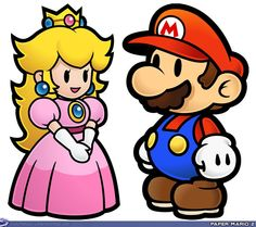 Minus Princess Peach And Mario