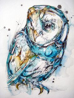 The Sea Glass Owl Art Print Watercolor Animal Art Print for sale for less than 30dollars. Available on different supports like t-shirts, iPhone&iPod cases, bags, hoodies, curtains, mugs and many more!
