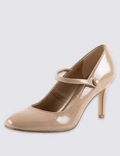5489b95bfa8c Dolly Patent Court Shoes with Insolia®