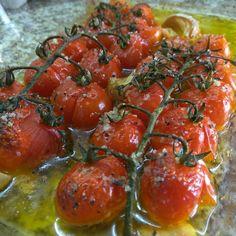 Tomatinhos assados