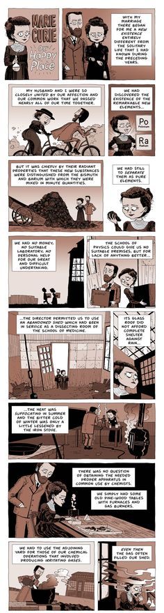 ZEN PENCILS » 204. MARIE CURIE: Our happy place