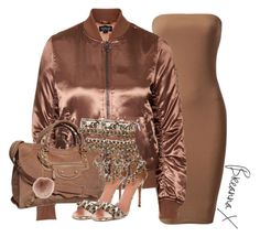 """""""Untitled #3052"""" by breannamules ❤ liked on Polyvore featuring Topshop, Balenciaga, Alaïa and Accessorize"""