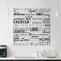 Special Moments Wall Art by Typography Of Love on ezebee.com