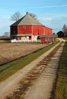 Love round barns.