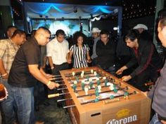 Anyone up for some sand foosball?Corona al Campeon program was featured in Event Marketer Magazine celebrating the brand's 'unofficial' sponsorship of the World Cup.