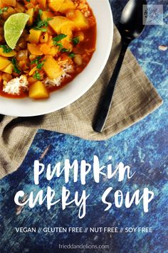 Pumpkin Curry Soup i