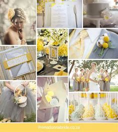 Grey and Yellow Wedding Ideas - Bing Images
