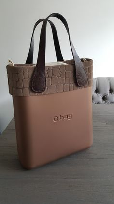 My new Obag! Leather Fashion, Leather Bag, O Bag, Michael Kors Jet Set, Product Design, Fashion Bags, Handbags, Chic, Outfit