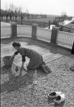 Henri Cartier-Bresson View profile NETHERLANDS. Southern Holland. Near Gouda. 1956.