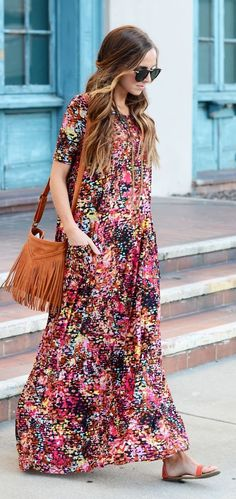 Boxy Maxi With Pockets Diy Dress
