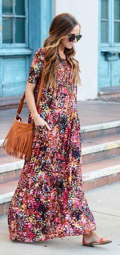 Boxy Maxi With Pockets Diy Dress