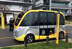 Perth launches Australia's first driverless bus, the RAC Intellibus