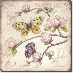 Cuadro Le Jardin Butterfly IV - McRostie, Kate