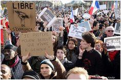 Photo Je suis Charlie - Paris 11 Janvier 2015 - GEO communauté photo